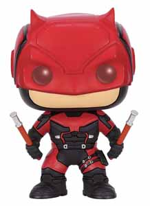 MARVEL COMICS FUNKO POP! TELEVISION BOBBLE HEAD DAREDEVIL