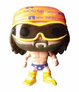 FUNKO POP RANDY SAVAGE OOH YEAH (MACHO MAN) WWE WRESTLING