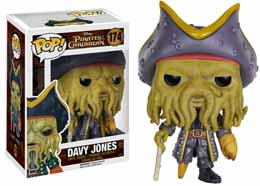 PIRATES DES CARAIBES FUNKO POP! DAVY JONES