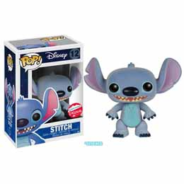 FUNKO POP STITCH FLOCKED DISNEY LILO ET STITCH POP!