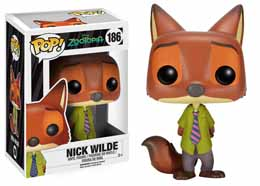 ZOOTOPIE FUNKO POP! DISNEY VINYL FIGURINE NICK WILDE