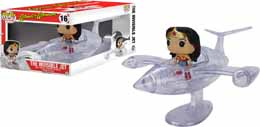 WONDER WOMAN - WONDER WOMAN WITH INVISIBLE JET POP! RIDES VINYL FIGURE