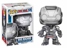CAPTAIN AMERICA CIVIL WAR FUNKO POP! BOBBLE HEAD WAR MARCHINE