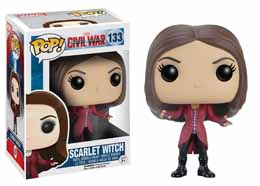 CAPTAIN AMERICA CIVIL WAR FUNKO POP! BOBBLE HEAD SCARLET WITCH
