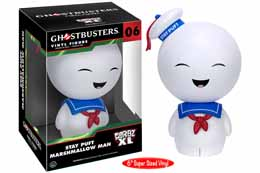 GHOSTBUSTERS FUNKO DORBZ XL FIGURINE STAY PUFT MARSHMALLOW MAN