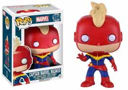 FUNKO POP CAPTAIN MARVEL MASKED EDITION LIMITEE
