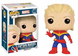 MARVEL COMICS POP! VINYL FIGURINE CAPTAIN MARVEL
