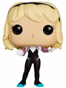 Photo du produit MARVEL COMICS FUNKO POP! SPIDER-GWEN (UNHOODED)
