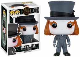ALICE THROUGH THE LOOKING GLASS POP! VINYL FIGURES MAD HATTER