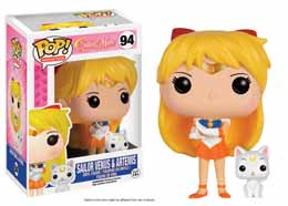 SAILOR MOON FUNKO POP SAILOR VENUS & ARTEMIS