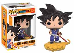 FUNKO POP DRAGON BALL Z GOKU & NIMBUS