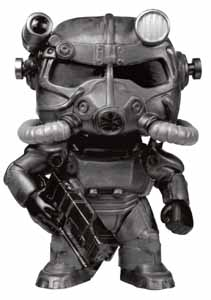 FALLOUT FUNKO POP T-60 POWER ARMOR (BLACK)