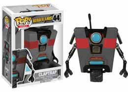 BORDERLANDS FUNKO POP CLAPTRAP BLACK LIMITED EDITION