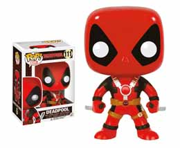MARVEL COMICS FIGURINE FUNKO POP DEADPOOL TWO SWORDS