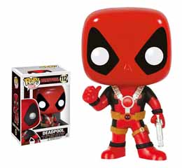 MARVEL COMICS FIGURINE FUNKO POP DEADPOOL THUMB UP