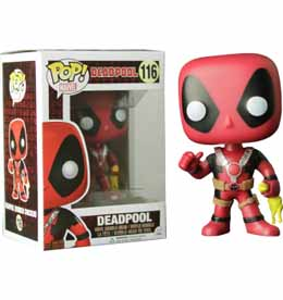 MARVEL FUNKO POP DEADPOOL RUBBER CHICKEN LIMITED EDITION