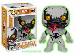 MARVEL COMICS POP! MARVEL VINYL BOBBLE HEAD ANTI-VENOM GLOW IN THE DARK