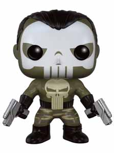 Photo du produit MARVEL COMICS FIGURINE POP! MARVEL VINYL PUNISHER (NEMESIS)