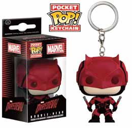 MARVEL COMICS PORTE-CLE POCKET POP! DAREDEVIL TV
