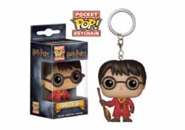 HARRY POTTER PORTE CLE POCKET POP! HARRY POTTER QUIDDITCH