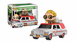 FIGURINE GHOSTBUSTERS 2016 ECTO-1 POP! RIDE