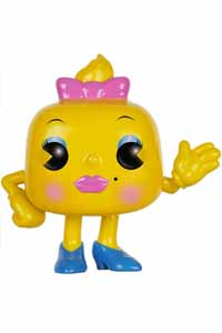 PAC-MAN POP! GAMES VINYL FIGURINE MS PAC-MAN