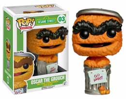 RUE SESAME FUNKO POP! OSCAR ORANGE LIMITED EDITION