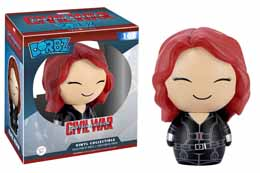 CAPTAIN AMERICA CIVIL WAR FUNKO DORBZ FIGURINE BLACK WIDOW