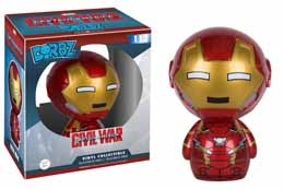 CAPTAIN AMERICA CIVIL WAR FUNKO DORBZ FIGURINE IRON MAN