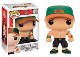 WWE WRESTLING FUNKO POP! JOHN CENA GREEN CAP