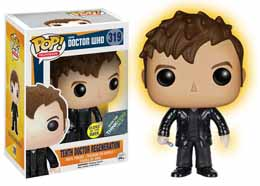 DOCTOR WHO FUNKO POP 10TH DOCTOR REGENERATION EXCLU