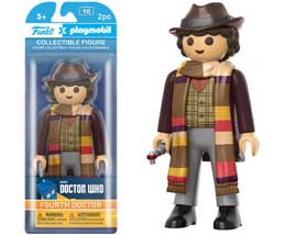DOCTOR WHO FUNKO PLAYMOBIL FIGURINE 4TH DOCTOR 15 CM
