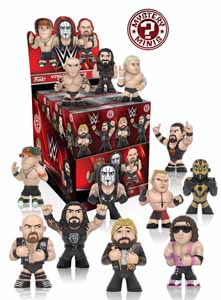 WWE MYSTERY MINIS 6 CM SERIES 2 (12 FIGURINES)