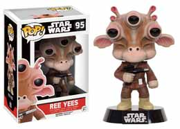 STAR WARS POP! VINYL BOBBLE HEAD REE YEES LIMITED EDITION