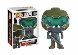 DOOM FIGURINE FUNKO POP! DOOM SPACE MARINE