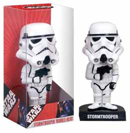 STAR WARS WACKY WOBBLER BOBBLE HEAD STORMTROOPER