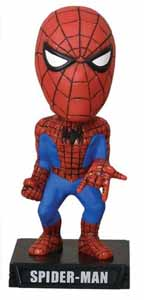 MARVEL COMICS WACKY WOBBLER BOBBLE HEAD SPIDER-MAN