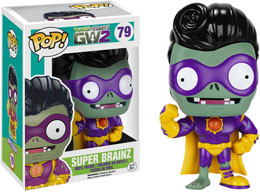 FUNKO POP PLANTS VS. ZOMBIES SUPER BRAINZ