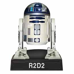 STAR WARS WACKY WOBBLER BOBBLE HEAD R2-D2