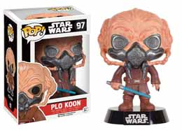STAR WARS POP! VINYL BOBBLE HEAD PLO KOON LIMITED EDITION