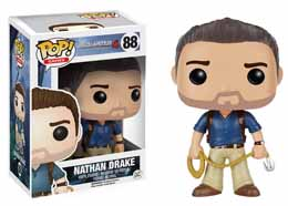 UNCHARTED FUNKO POP! GAMES FIGURINE NATHAN DRAKE