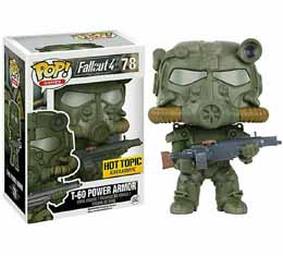 FALLOUT 4 FUNKO POP ARMY GREEN T-60 ARMOR
