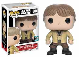 STAR WARS  FUNKO POP BOBBLE HEAD LUKE SKYWALKER (CEREMONY)