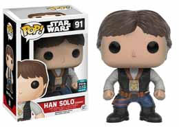 Photo du produit STAR WARS POP! VINYL BOBBLE HEAD HAN SOLO (CEREMONY)