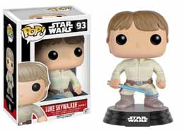 Photo du produit STAR WARS POP! VINYL BOBBLE HEAD LUKE SKYWALKER (BESPIN)