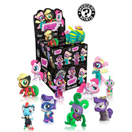 MYSTERY MINI MON PETIT PONEY 12 FIGURINES MYSTERY MINI + PRESENTOIR