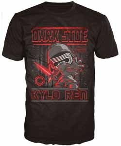 STAR WARS EPISODE VII POP! TEES T-SHIRT KYLO REN
