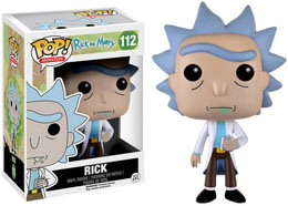 RICK ET MORTY FIGURINE FUNKO POP! ANIMATION RICK