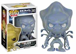 INDEPENDENCE DAY FIGURINE POP! MOVIES VINYL ALIEN (WHITE EYES)