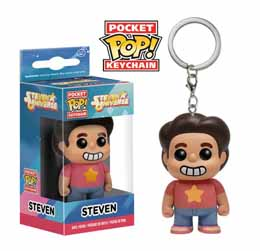 Photo du produit STEVEN UNIVERSE PORTE-CLES POCKET POP! VINYL STEVEN